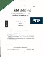 UPSR Percubaan 2013 Penang BM Pemahaman