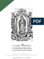 DeLaPeña,Guillermo-ElCampoReligiosoLaDiversidadReligiosaYLaIdentidadNacionalEnMexico