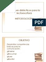 Enfoques didácticos para la lectoescritura