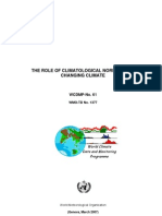 The Role of Climatological Normals in a Changing Climate - Wcdmpno61_1
