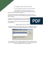 Como Configurar Una Red Con Protocolo TCP