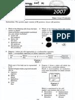 SPM Biology 2007 k1