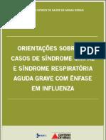 Orientacoes Sobre Os Casos de Sindrome Gripal e Sindrome Respiraoria Aguda Grave Com Enfase Em Influenza SES MG