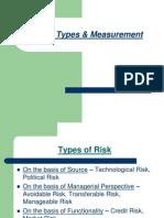 Risk-Types & Measurement