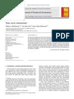 Time Series Momentum - Journal of Financial Economics 2012
