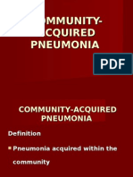 Community Acquired Pneumoniarevisedii