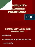 Community Acquired Pneumoniarevisedii