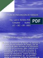 5-EL PLAN DE PREVENCIÓN DE RIESGOS