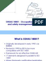 Oshas 18001 Overview
