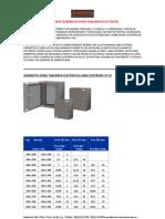 Elecris SRL Catalogo Gabinetes Para Tableros Electricos