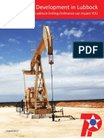 Lubbock, TX - Oil and Gas Development