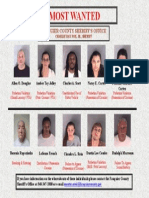 Fauquier County's Most Wanted 8-20-2013