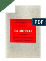 Morale (La) 03 Cours Moyen 160 Fiches de préparation Levesque-Leclercq 1961