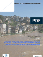 ESTUDO TÉCNICO DE ÁGUA E ESGOTO DE CACHOEIRO DE ITAPEMIRIM_ES_PLANO DE SANEAMENTO[1]