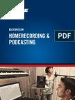 De Basiswissen Homerecording Podcasting