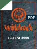 waldrock programmaboekje
