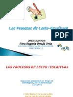 PROCESOS LECTO-ESCRITURA