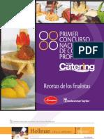 Recetas 1 Concurso Revista Catering, Recetas Ganadoras