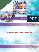 District Report LQAS Survey Wa Municipal