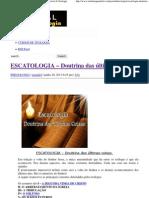 ESCATOLOGIA – Doutrina das últimas coisas.pdf