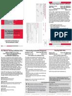 NJ Compost Operator Certification & Alternate Recycling Certification Programs – 2013-14