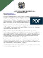 syllabus 2013-14