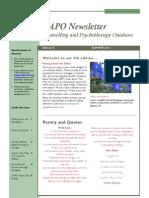 CAPO Newsletter 5 Summer 2011