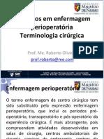 Conceitos Basicos Em Enfermagem Perioperatoria e Terminologia Cirurgica
