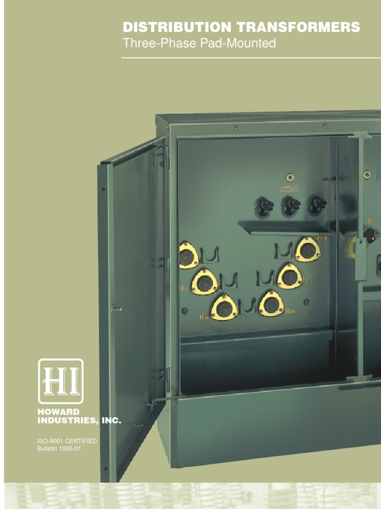 Three Phase Pad Mounted Brochure | Fuse (Electrical