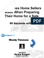 Wendy Timmons - 5 Staging Mistakes