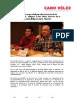 18-08-13 CERTEZA Y SEGURIDAD PARA LA INDUSTRIA DE LA CONSTRUCCIÓN, SEGURA CANO VÉLEZ, DIRECTOR DE LA SHF