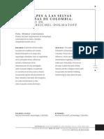 De ls alpes a las selvas y montañas de Colombia, legado de Dolmatoff