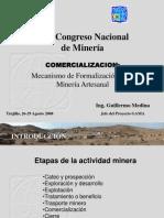 Mecanismos de Formalizacion de La Mineria Informal
