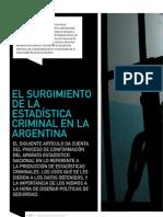 Olaeta Surgimiento Estadisticas Criminales en Argentina