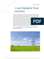 PEMANDU Lab Highlights - Rural Basic Infrastructure