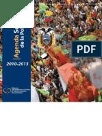 Agenda Sectorial de la Política 2010-2013
