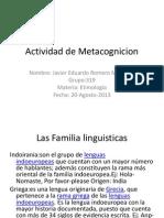 Actividad de Metacognicion