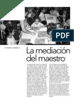 12 - La Mediacion Del Maestro
