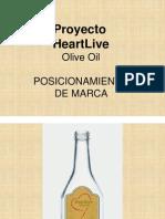 Lanzamiento de Marca HeartLive Olive Oil