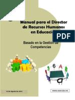 Manual Del Director de Recursos Humanos Basado en La Gestion de Competencias 2013