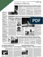 """""""Terre forti"""" su """"La SIcilia"""" del 6 giugno 2009"""
