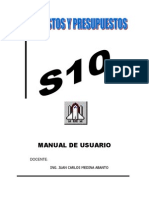 Manual s10 CAPI