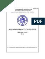Anuario Climatologico - 2010
