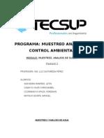 Informe de Calidad de Aguas 26.08.2011