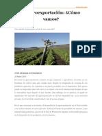 La agroexportación