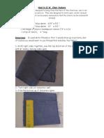 Noel Chair Pocket Directions