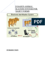 Animal Identification Using RFID
