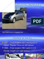 Hybrid Electric Vehicles  system