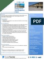 OT Leaflet Fundamentals of Ocean Dt Mng May 2013