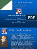 Teoria Del Costo de Adam Smith Presentacion